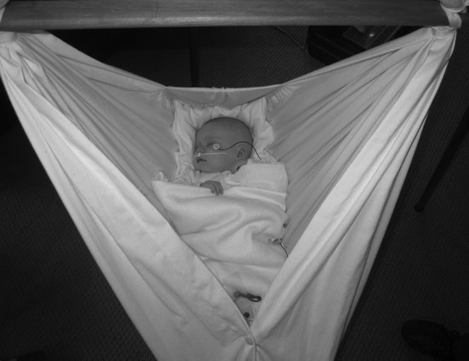 Baby hammock study shows safe oxygen levels