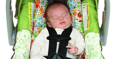 Baby car seat insert – our natural fibre 'Breathe Easy'